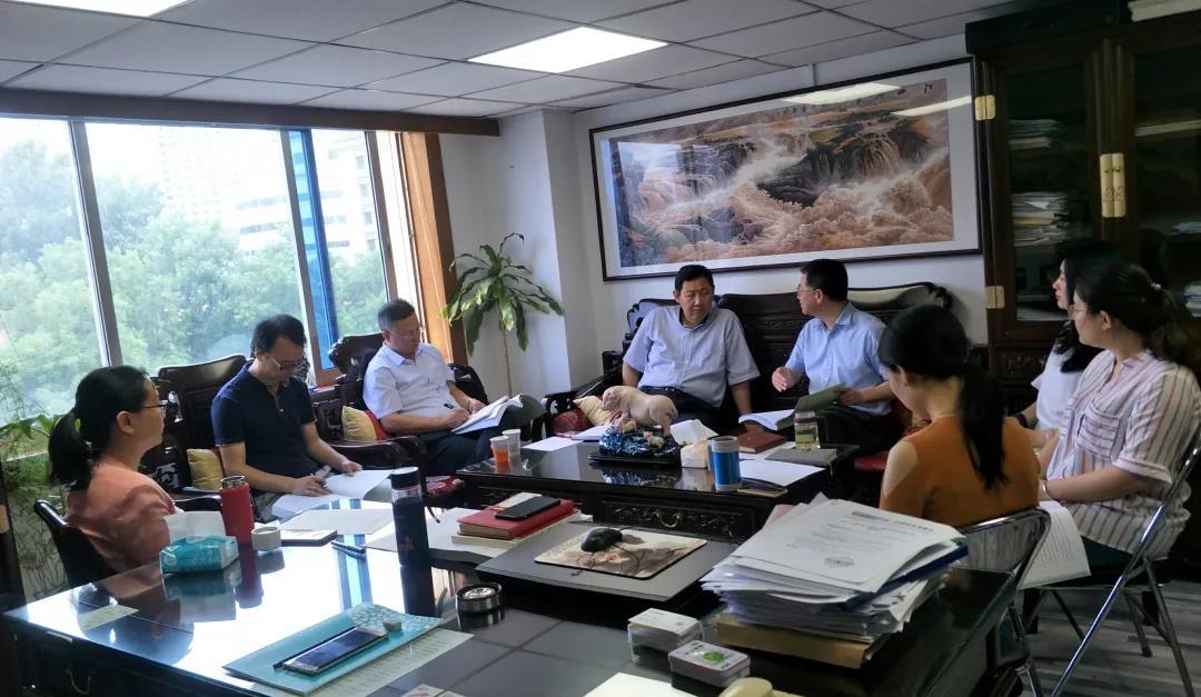 中物聯黨委到訪中國建筑材料流通協會 開展黨建工作調研