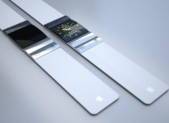 北京时间3月7日消息,据国外媒体报道,尽管很多人不看好iWatch腕表,TikTok和LunaTik(能将iPod   Nano变成手表的套件)风靡一时也能侧面反映出这种佩戴型电子产品多么受欢迎。为了迎合这种庞大的需求,设计师Tolga Tuncer构想出了这款iWatch概念腕表。       这种腕表能够和iPhone、iPad、iMac以及Macbook进行通信传输和云同步。机身采用超薄设计,表盘上方安有一条高性能太阳能电池条,表盘采用普通OLED屏幕,屏幕没有触屏功能,因而十分轻薄。其下方