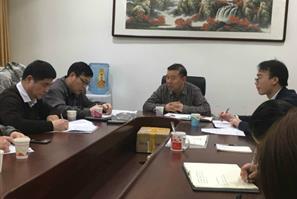 任豪祥参加中国财富出版社2017年度领导班子民主生活会