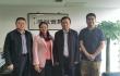 何黎明会见新疆物流行业协会副会长兼秘书长潘红春一行